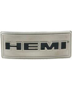 Western Express Men's Silver Hemi Belt Buckle , Silver, hi-res