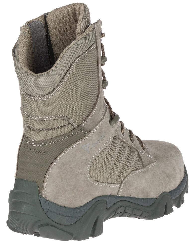 Bates Men's GX-8 Side Zip Work Boots - Composite Toe, Sage, hi-res