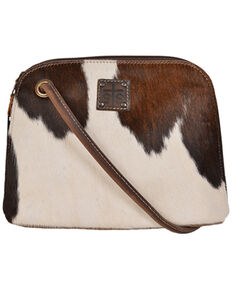 STS Ranchwear By Carrol Cowhide Baroness Classic Crossbody, Black, hi-res