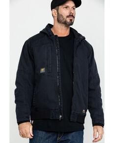 Ariat Men's Black Rebar Washed Dura Canvas Insulated Work Coat , Black, hi-res