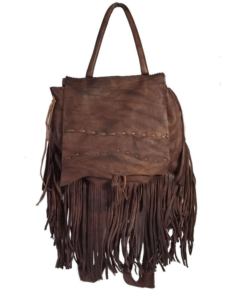 Kobler Leather Women's Rucksack Backpack, Dark Brown, hi-res