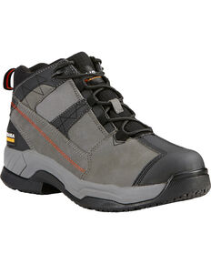 Ariat Men's Contender Work Shoes, Grey, hi-res