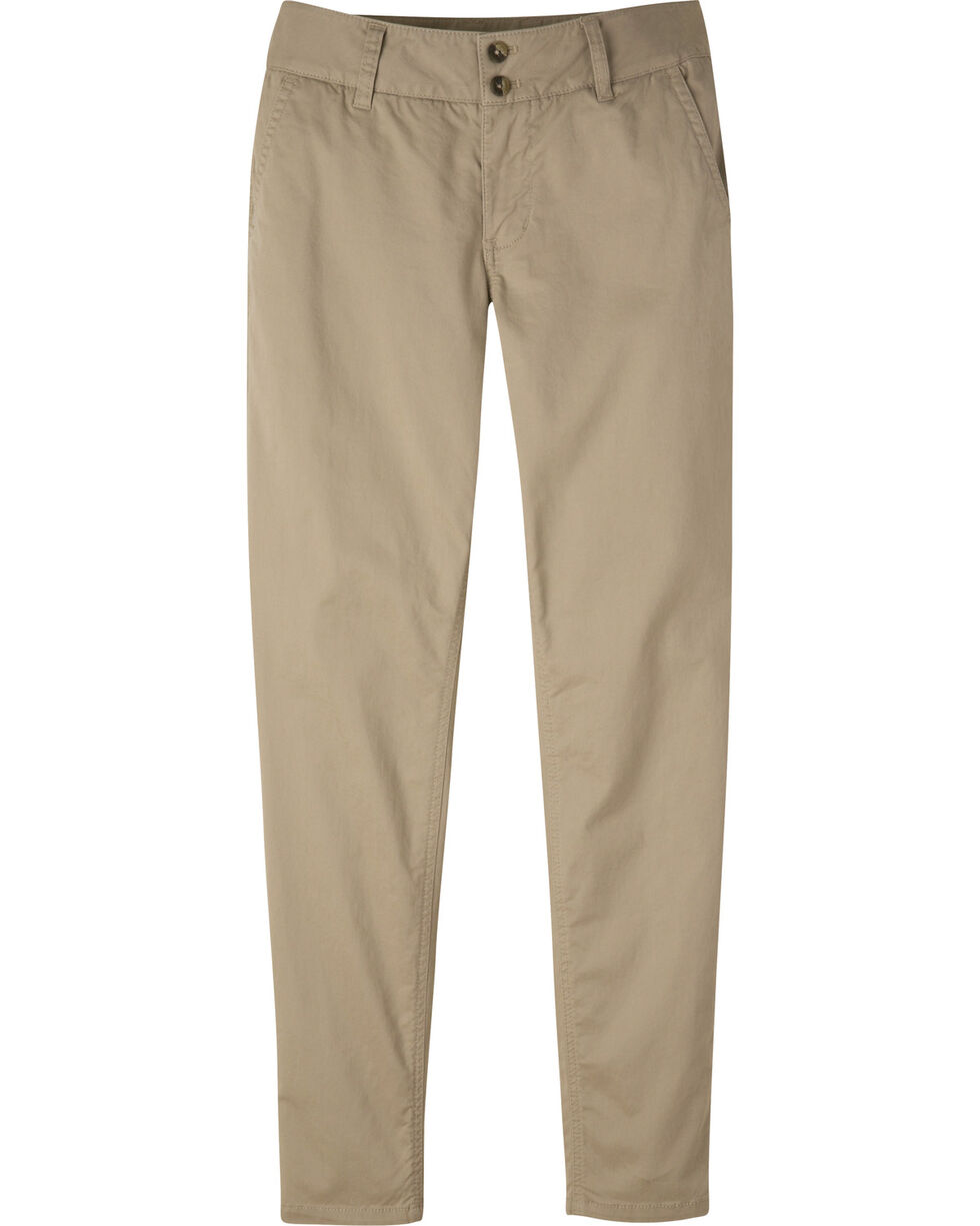 Mountain Khakis Women's Sadie Skinny Chino Pants - Petite, Beige, hi-res