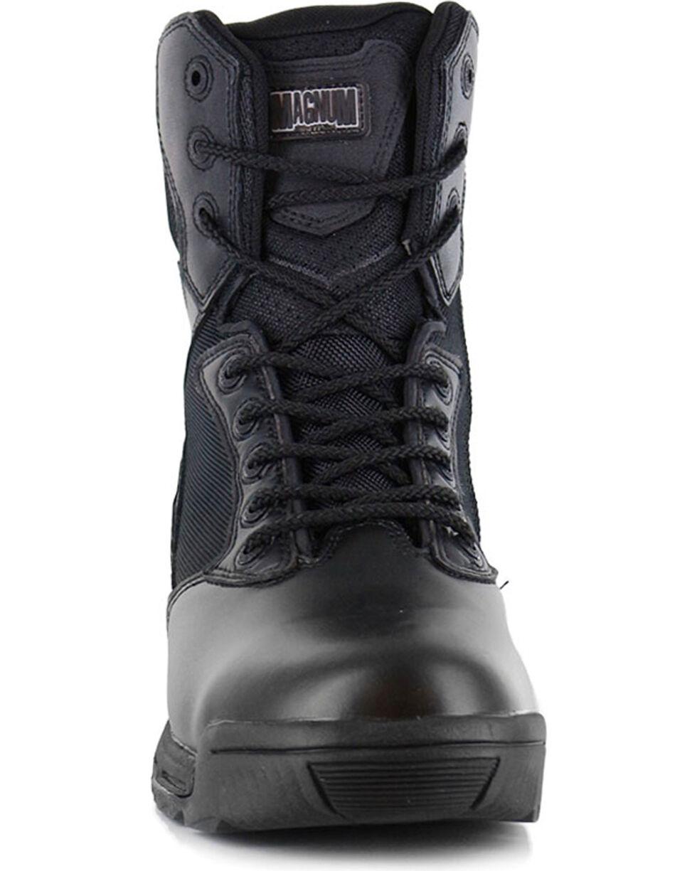 Magnum Men's Stealth Force Side Zip Waterproof Work Boots, Black, hi-res