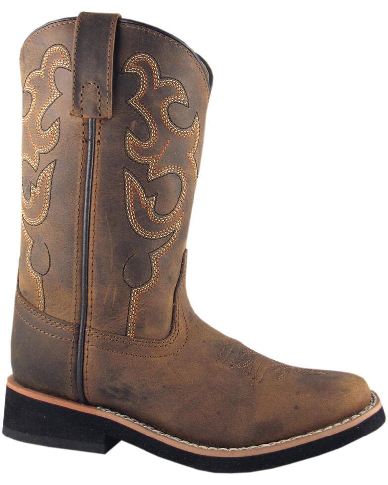 Smoky Mountain Toddler Boys' Pueblo Western Boots - Square Toe, Crazyhorse, hi-res