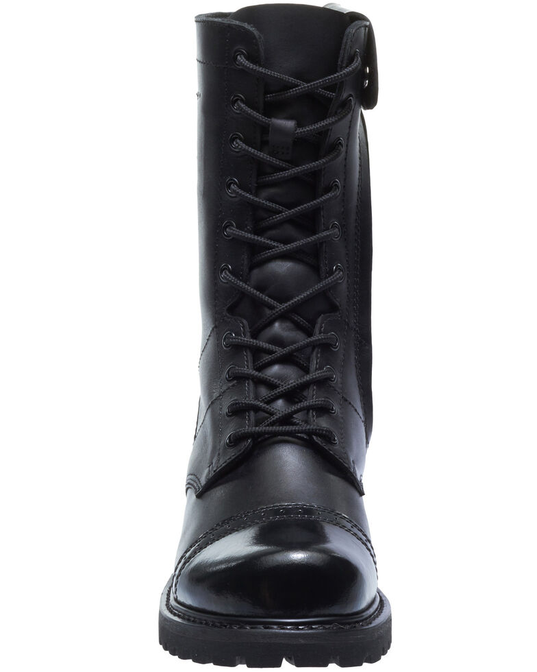 Bates Men's Paratrooper Work Boots - Soft Toe, Black, hi-res