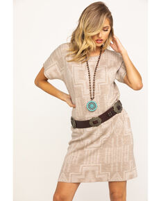 Pendleton Women's Harding Sweater Dress, Taupe, hi-res
