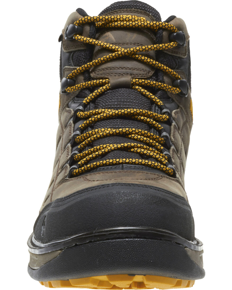 Wolverine Men's Edge LX Waterproof Work Boots - Composite Toe, Brown, hi-res