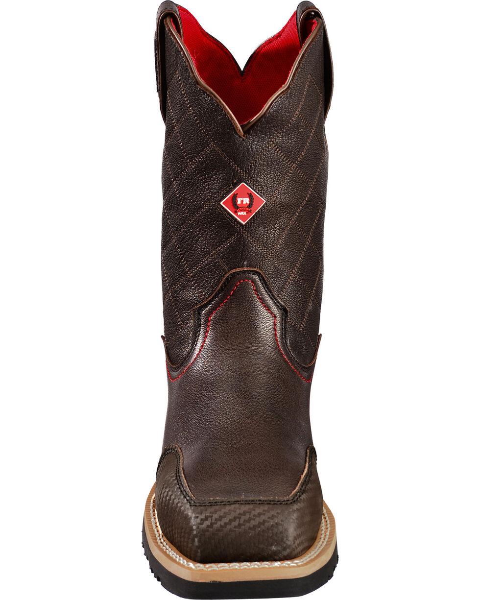 Cinch Men's WRX Slip Resistant Work Boot, Brown, hi-res