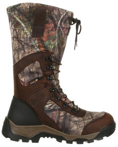 Rocky Men's Sport Pro Timber Stalker Waterproof Outdoor Boots - Round Toe, Camouflage, hi-res