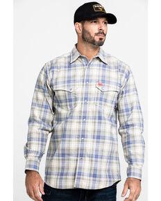 Ariat Men's FR Gulfstream Plaid Long Sleeve Work Shirt , Multi, hi-res