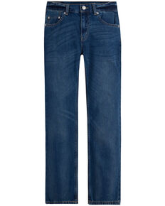 Levis Boys' Clouded Tones 505 Regular Fit Straight Jeans , Blue, hi-res
