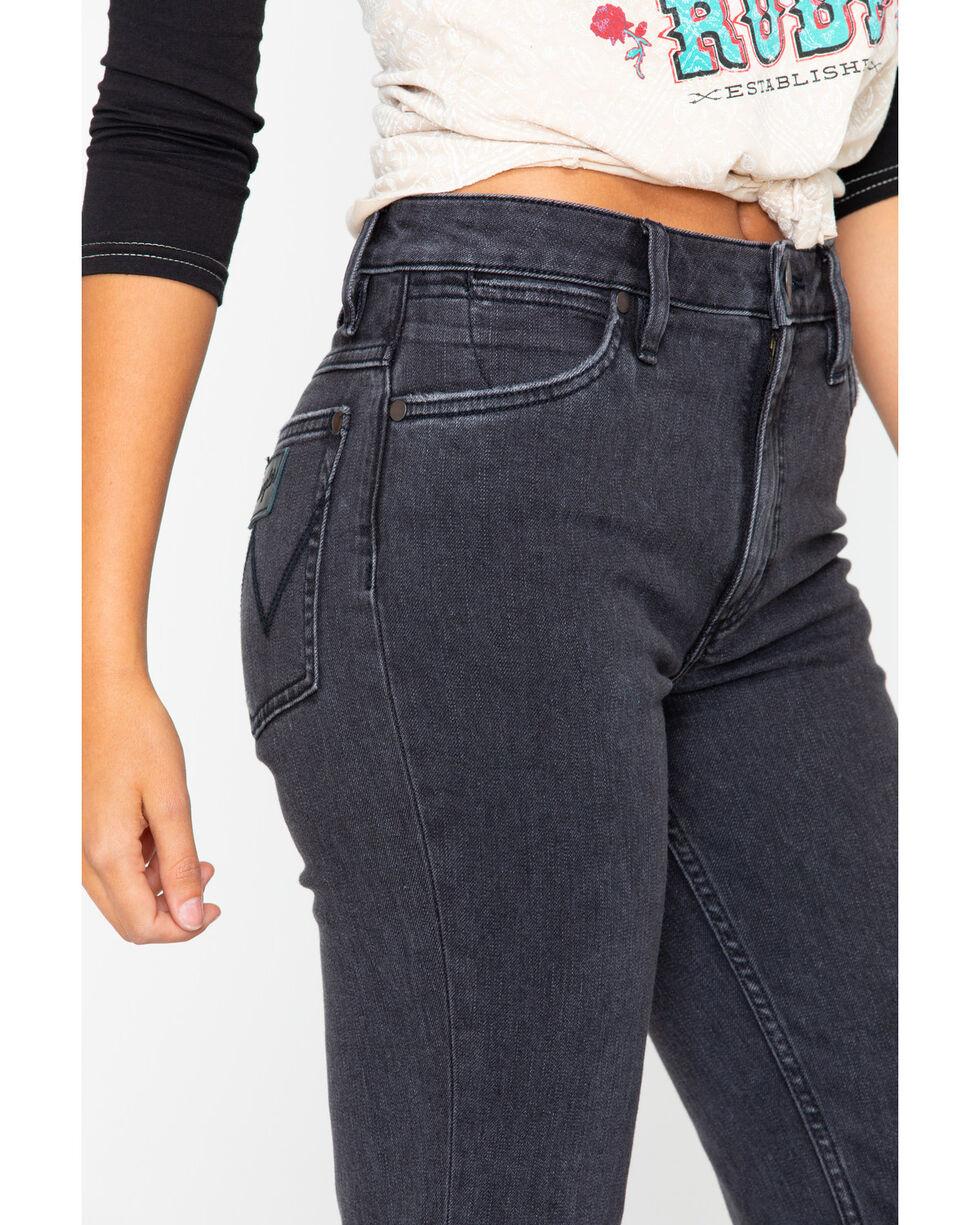 Wrangler Women's Modern High Rise Heritage Crop Jeans, Black, hi-res