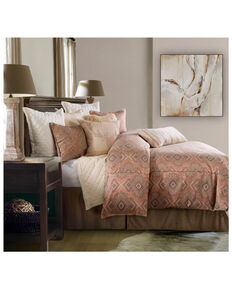 HiEnd Accents Full 3 Piece Sedona Comforter Set , Pink, hi-res