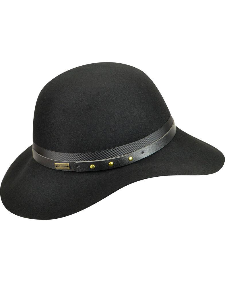 Betmar Women's Hayden Floppy Hat, Black, hi-res