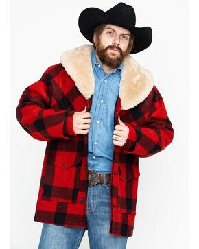 Filson Men's Lined Wool Packer Long Sleeve Work Coat, Multi, hi-res