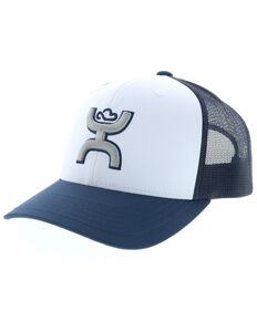 HOOey Men's Preston Logo Patch Cap , Blue, hi-res