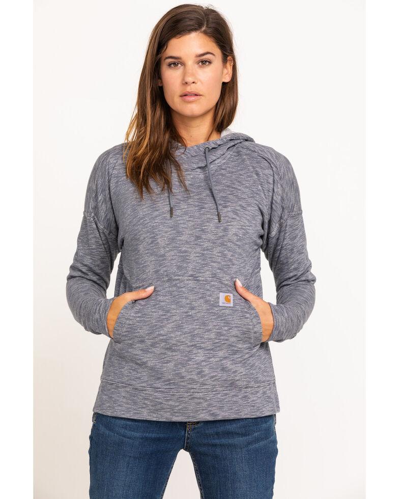 Carhartt Women's Newberry Hoodie, Dark Grey, hi-res