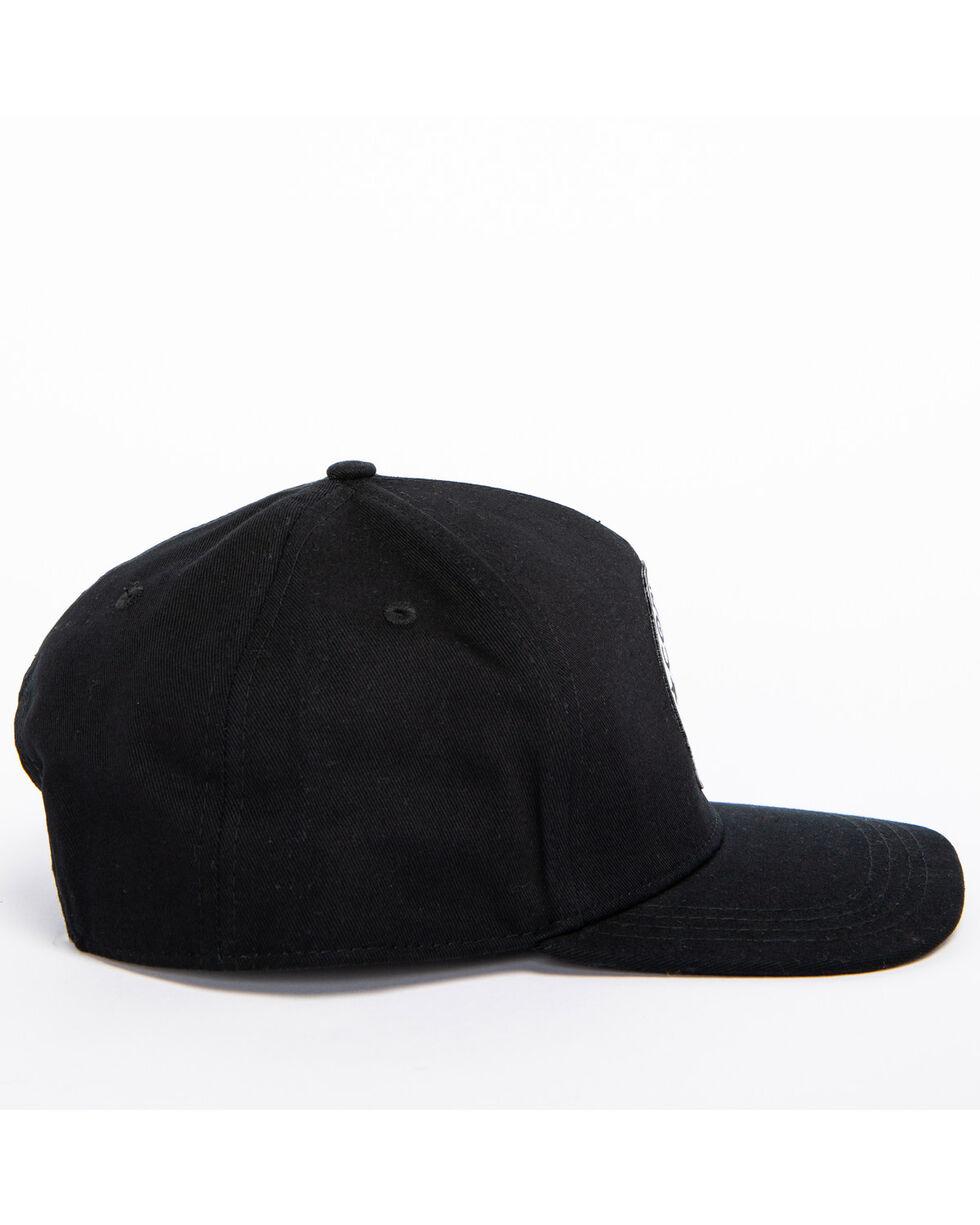 Cody James Men's Western Patch Trucker Hat, Black, hi-res