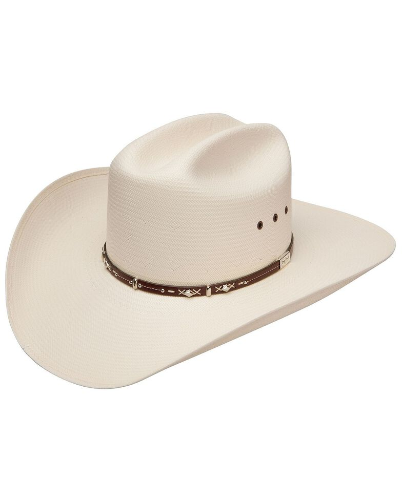 Resistol Men's George Strait Hazer Straw Hat, Natural, hi-res
