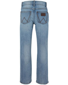 Wrangler Retro Boys' 4-7 Jacksboro Light Stretch Slim Straight Jeans , Blue, hi-res