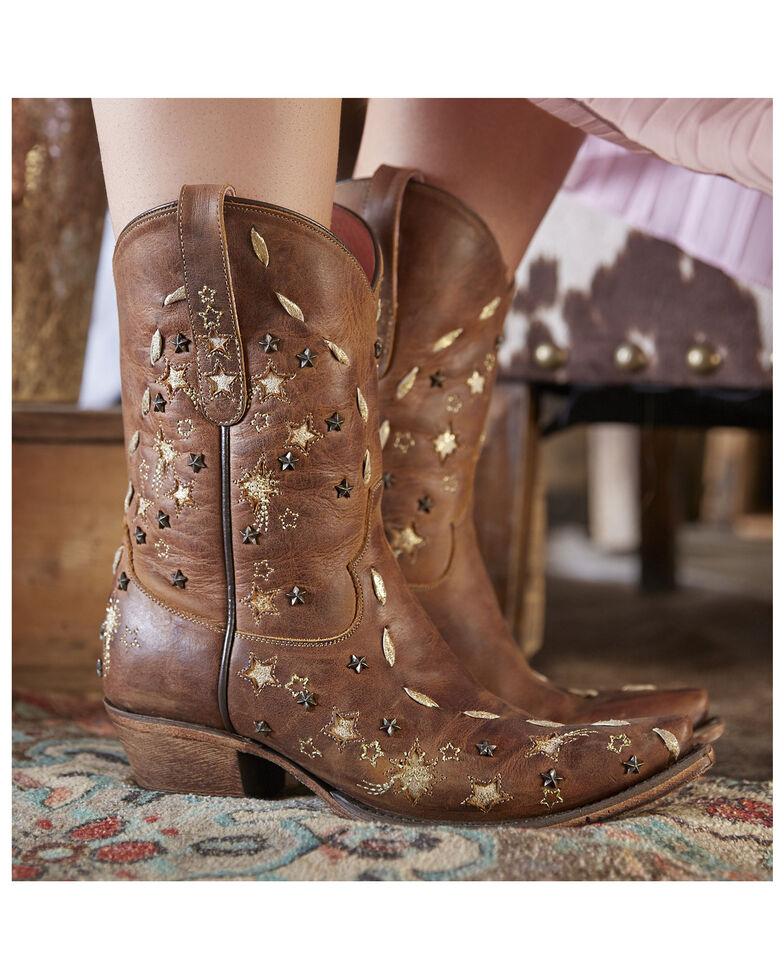 Junk Gypsy by Lane Women's Starstruck Western Booties - Snip Toe, Tan, hi-res