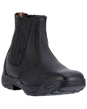 Dan Post Men's Lewis Leather Boots - Wide Square Toe, Brown, hi-res