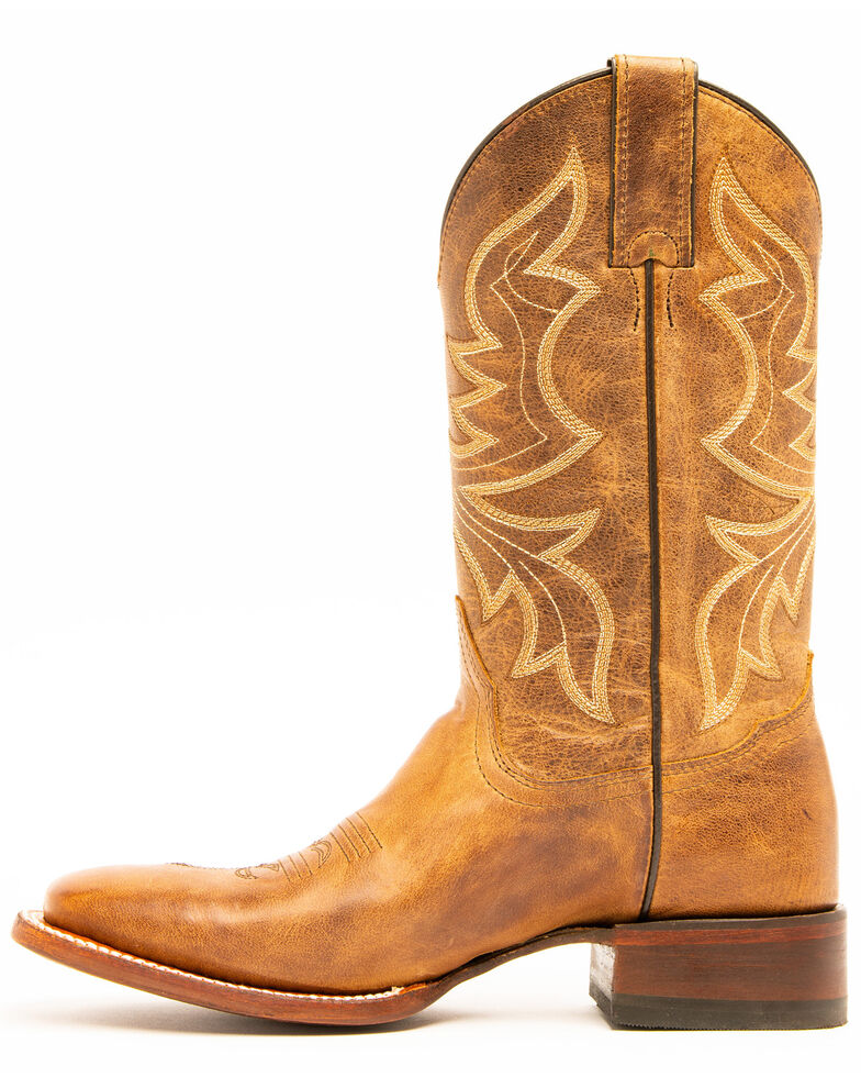 Shyanne Women's Cognac Western Boots - Square Toe, Brown, hi-res