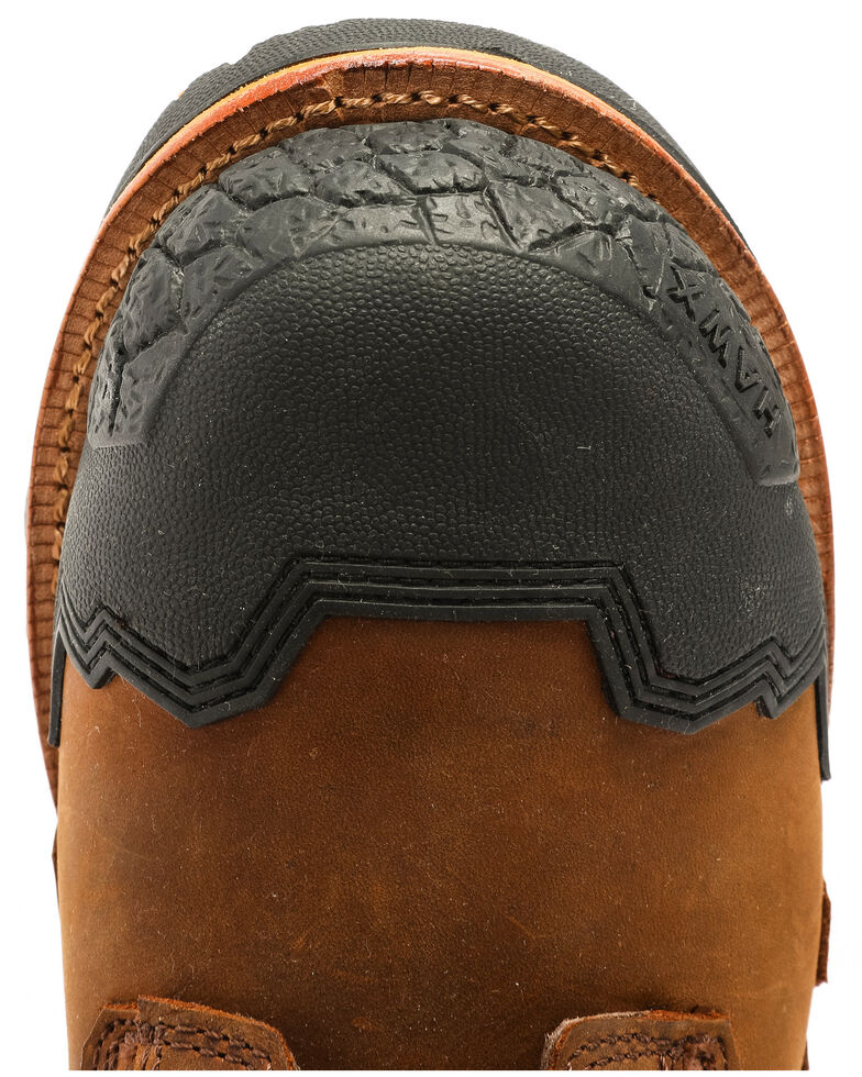 Hawx Men's Legion Work Boots - Nano Composite Toe, Brown, hi-res