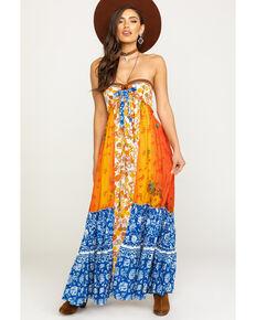 Free People Women's Golden Dreams Maxi Dress, Multi, hi-res