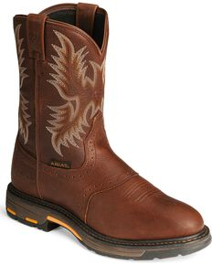Ariat Men's Workhog Work Boots, Copper, hi-res