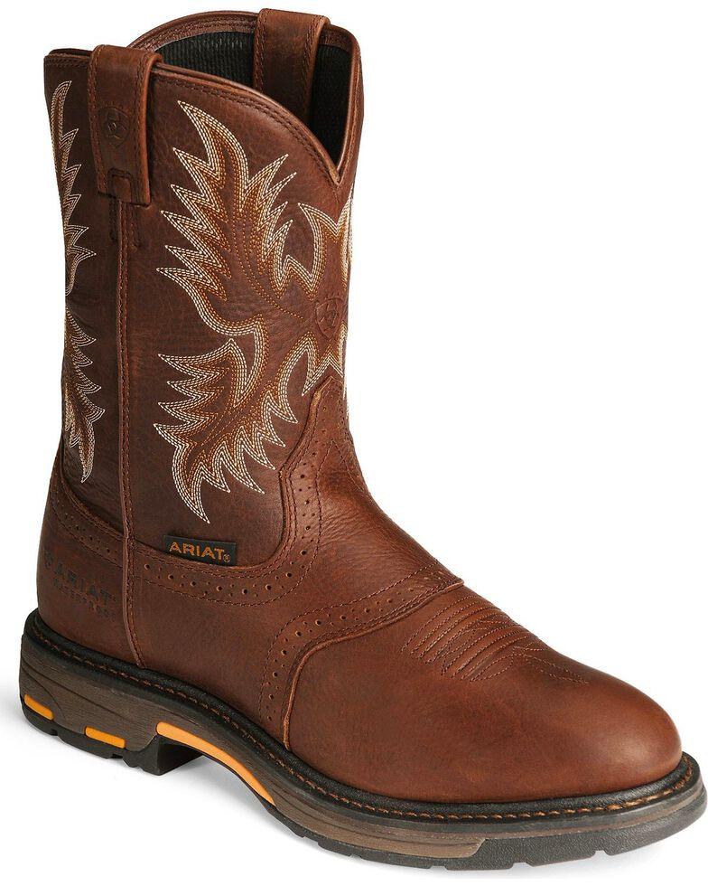 Ariat Men's Workhog Work Boots, Copper, hi-res