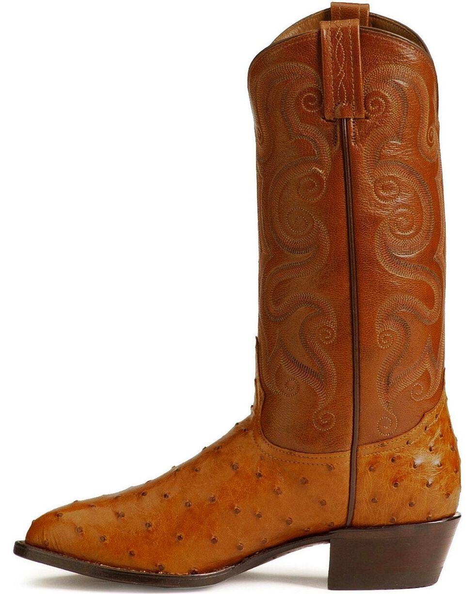 """Tony Lama Men's 13"""" Exotic Western Boots, Peanut Brittle, hi-res"""
