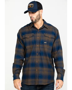 Ariat Men's Drake Rebar Flannel Durastretch Long Sleeve Work Shirt , Multi, hi-res