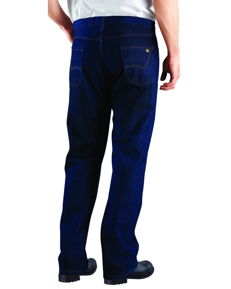 Dickies Flannel Lined Work Jeans, Prw Indigo, hi-res