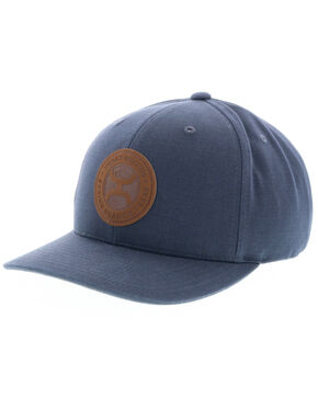 HOOey Men's Buck Snapback Cap, Grey, hi-res