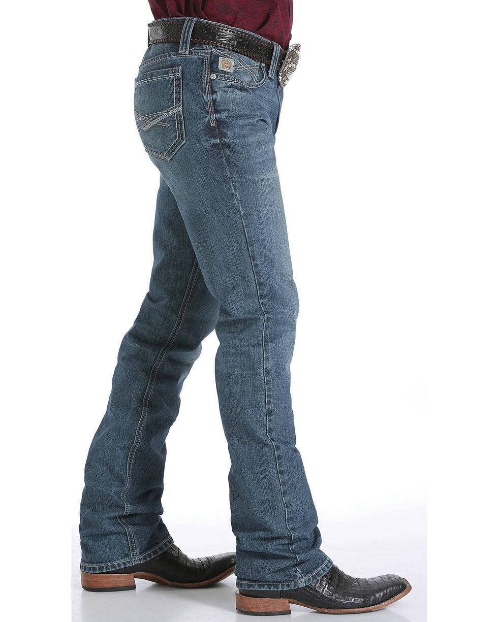 Cinch Men's Ian Mid Rise Slim Boot Cut Jeans, , hi-res
