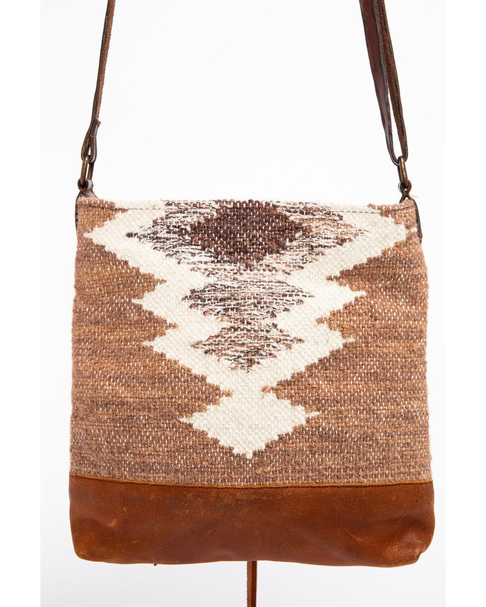 Idyllwind Women's Wanderer Serape Shoulder Bag, Brown, hi-res