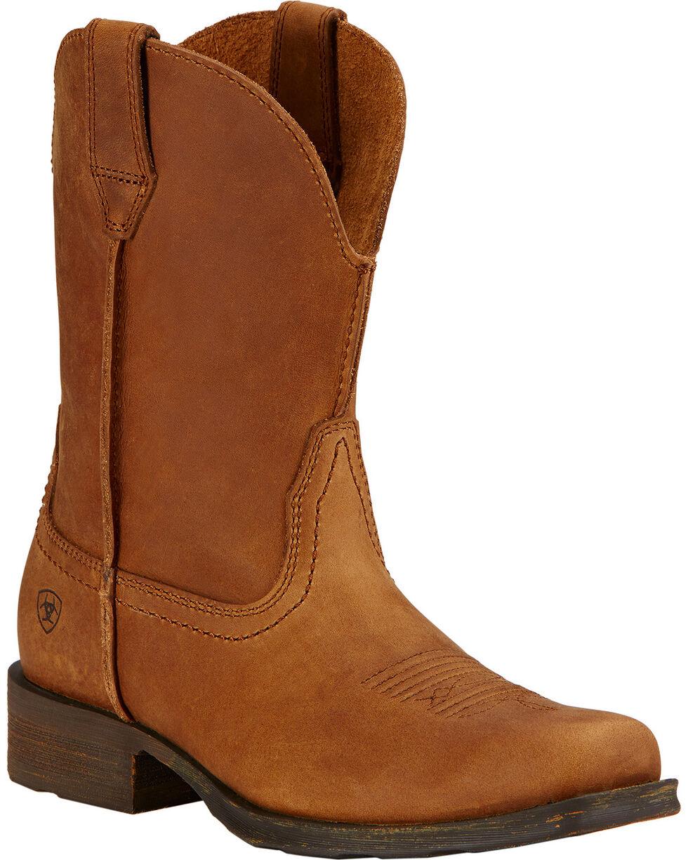 Ariat Women's Rambler Western Boots, Brown, hi-res