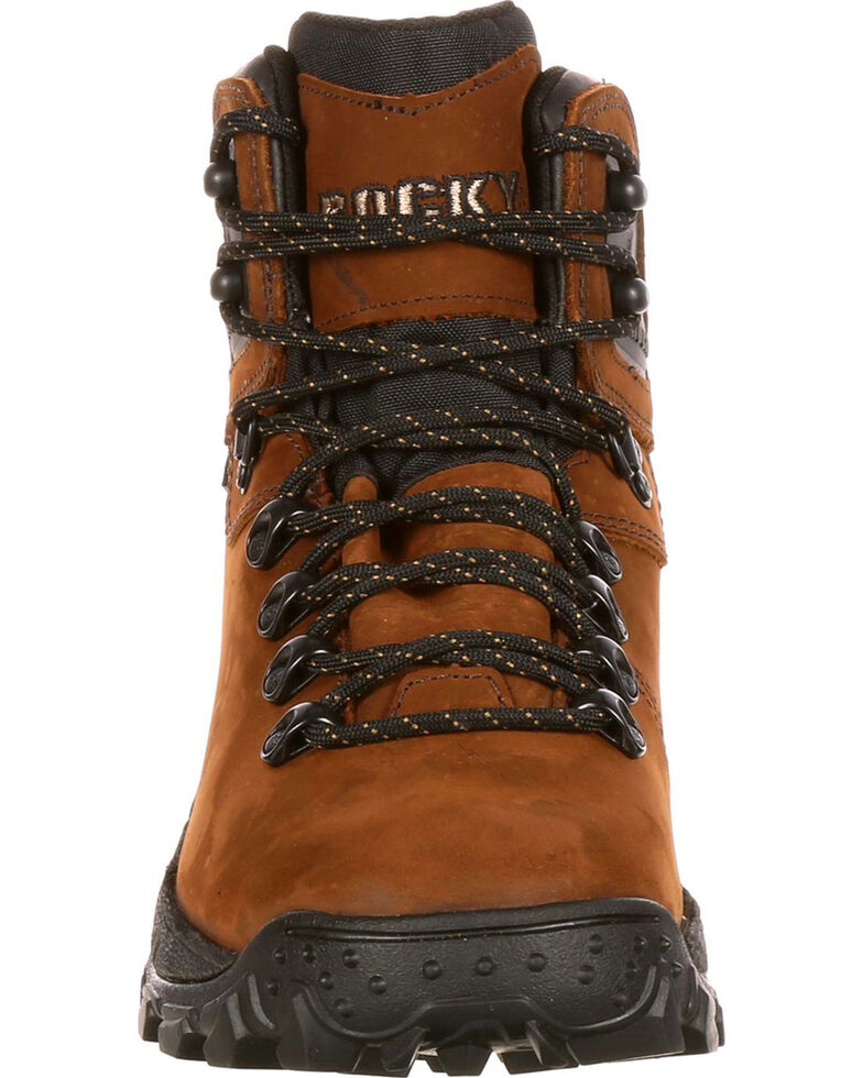 Rocky Men's Ridge Top Hiker Boots, Dark Brown, hi-res