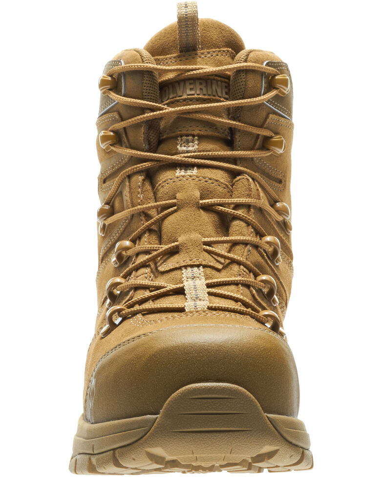 Wolverine Men's Contractor LX Work Boots - Composite Toe, Tan, hi-res