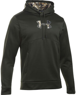 Under Armour Men's Icon Caliber Hoodie, Green, hi-res