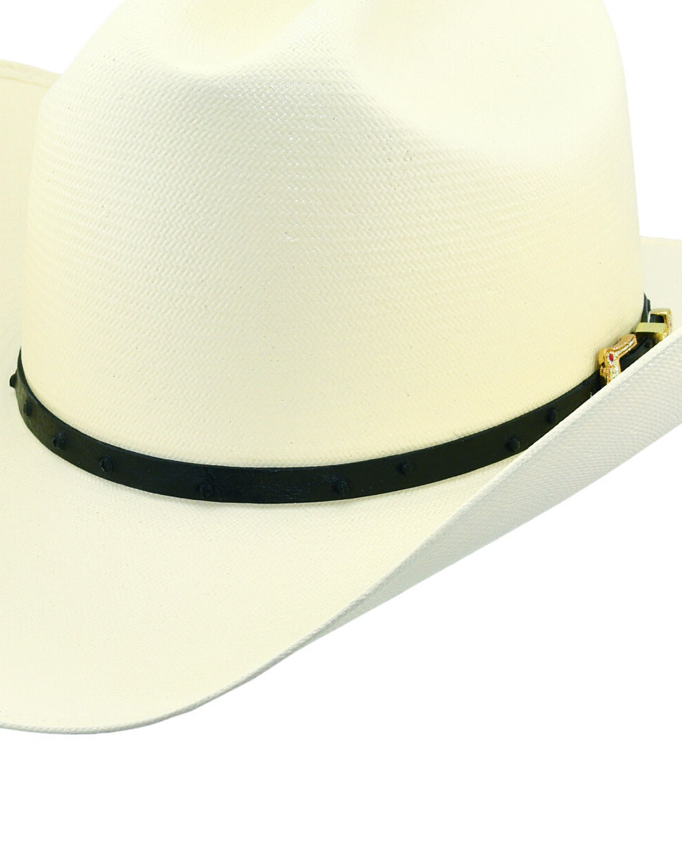 Larry Mahan Men's 30X Corona Buttercup Straw Hat, Ivory, hi-res