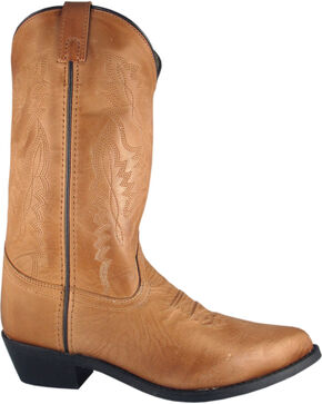 Smoky Mountain Women's Bomber Cowgirl Boots - Medium Toe, Tan, hi-res