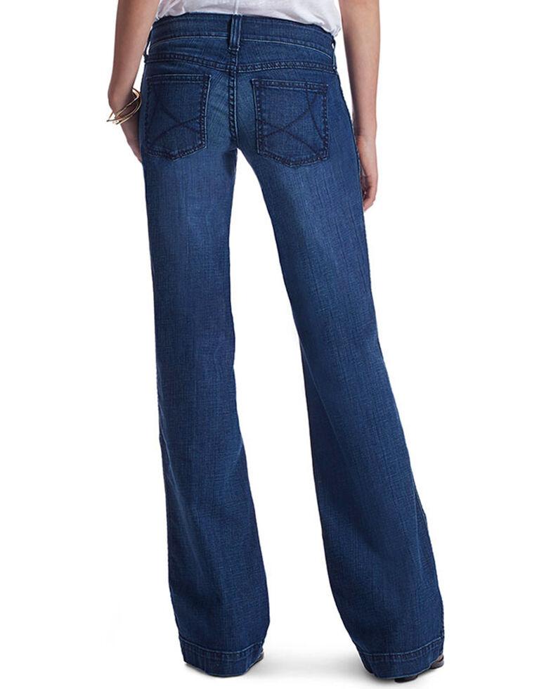 Ariat Women's Ella Trouser Jeans - Flare , Indigo, hi-res