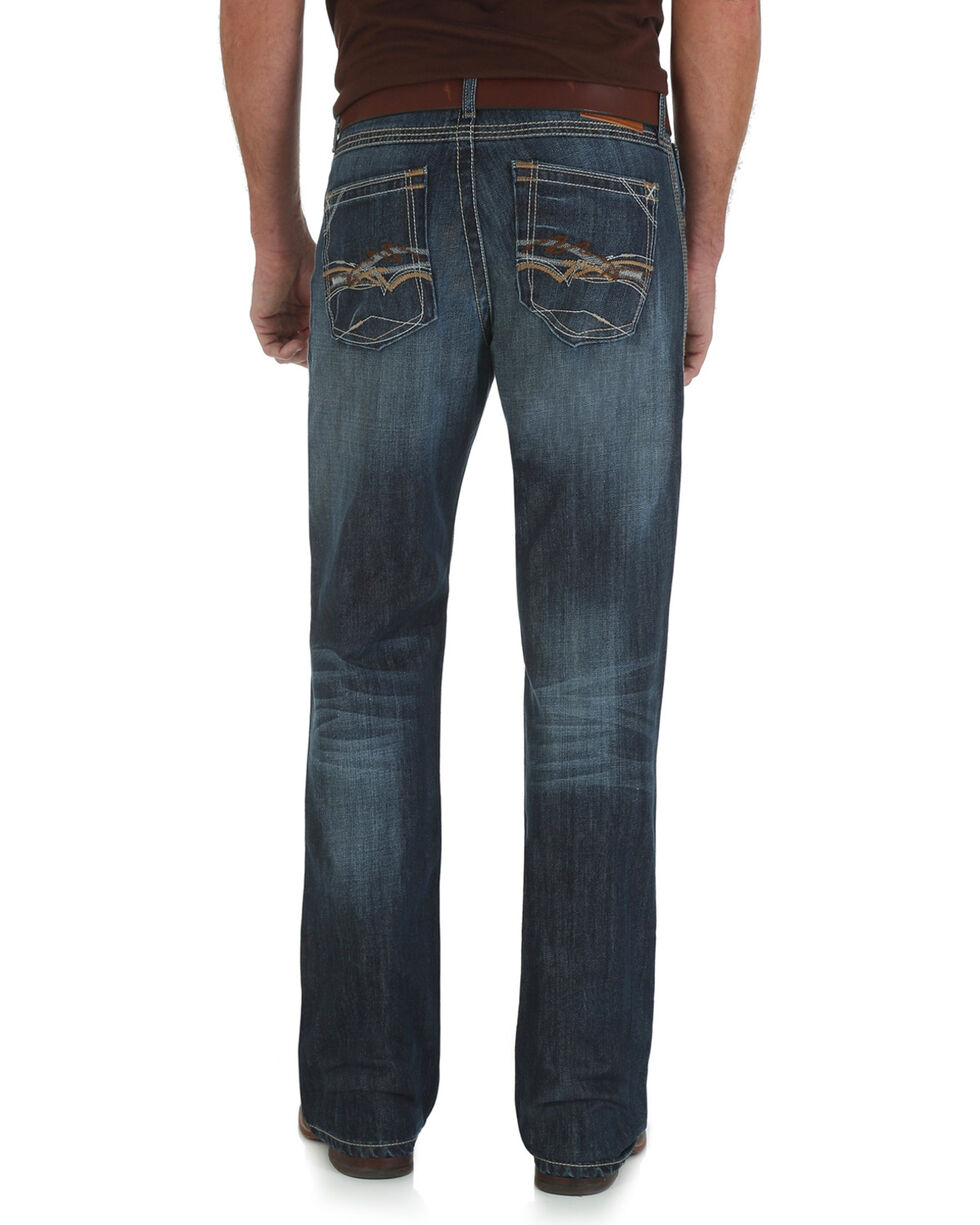 Wrangler 20X Bristow 42 Vintage Bootcut Jeans - Slim Fit - Big and Tall, Denim, hi-res