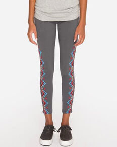 Johnny Was Women's Sonoma Leggings , Grey, hi-res