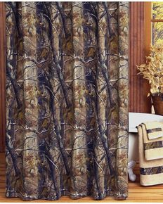 Realtree All Purpose Camo Shower Curtain, Camouflage, hi-res