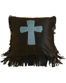 HiEnd Accents Cheyenne Cross Pillow, Multi, hi-res