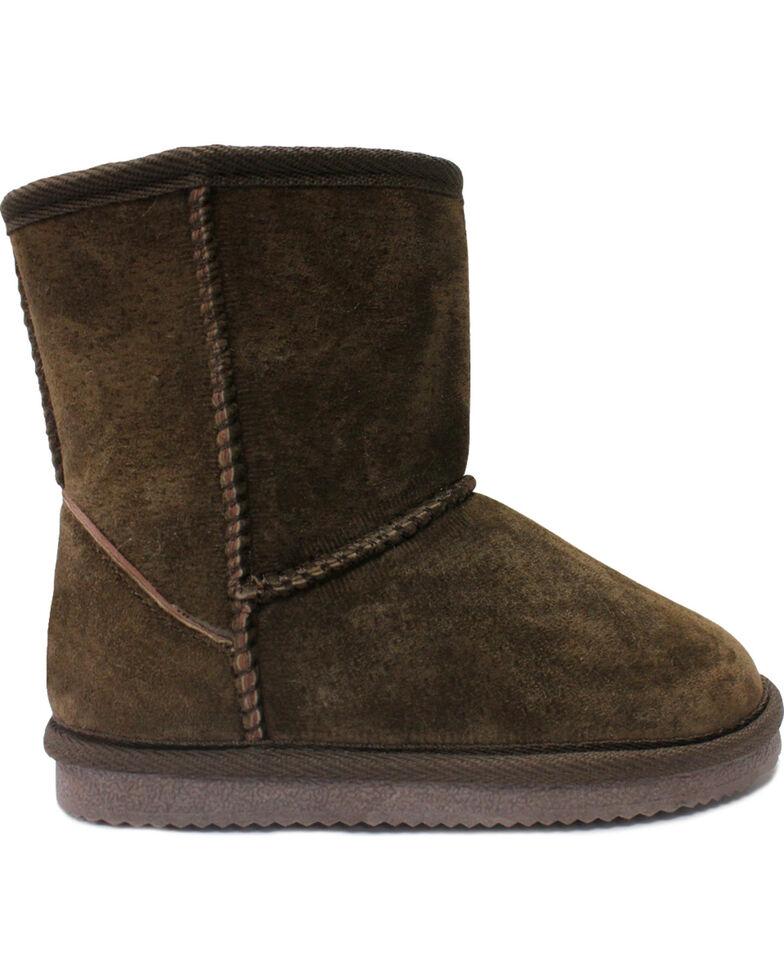 Lamo Footwear Kid's Classic Boots - Round Toe, Chocolate, hi-res